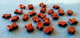 Звенья турманиевые для браслетов (М-27) (набор из 2 штук)