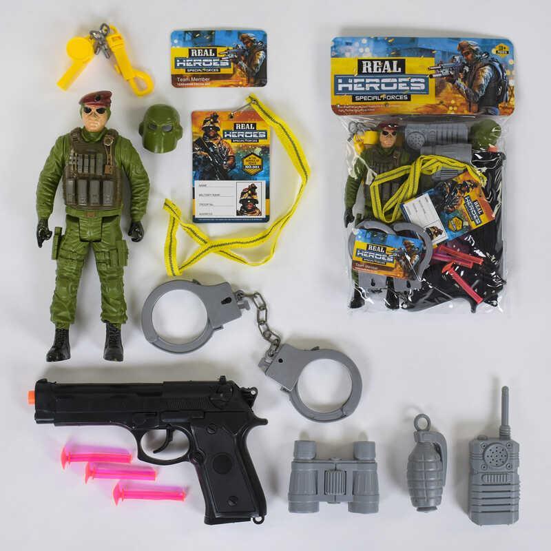 """Военный набор """"Спецотряд"""" 88664 (144/2) в кульке"""