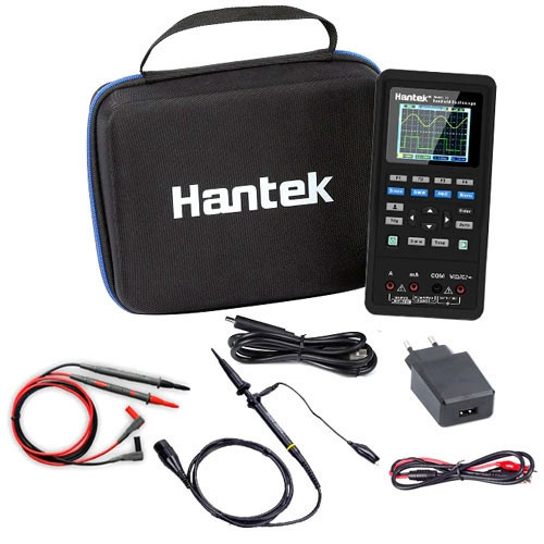 Осциллограф 40МГц Hantek 2C42 2кан + мультиметр 2в1 портативный