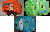 Рюкзак Макквин зеленый,оранжевый,голубой арт 7688.