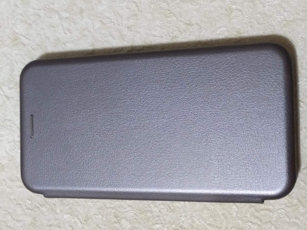 Чехол- книга Premium для iPhone 6 plus ( серебро)