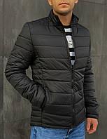 Куртка мужская демисезонная черная до + 5* С CL X black