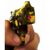 """Зажигалка газовая турбо с лазерной указкой """"Пистолет"""" (10х8х1,5 см), фото 2"""