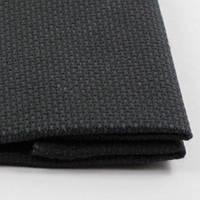 Канва для вишивання Арт.13 К6 чорна, 100% бавовна, 50х50см
