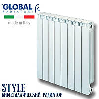 Биметаллический радиатор Global Radiatori Style 500