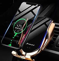Автомобильный держатель R1 Smart Sensor с беспроводной зарядкой