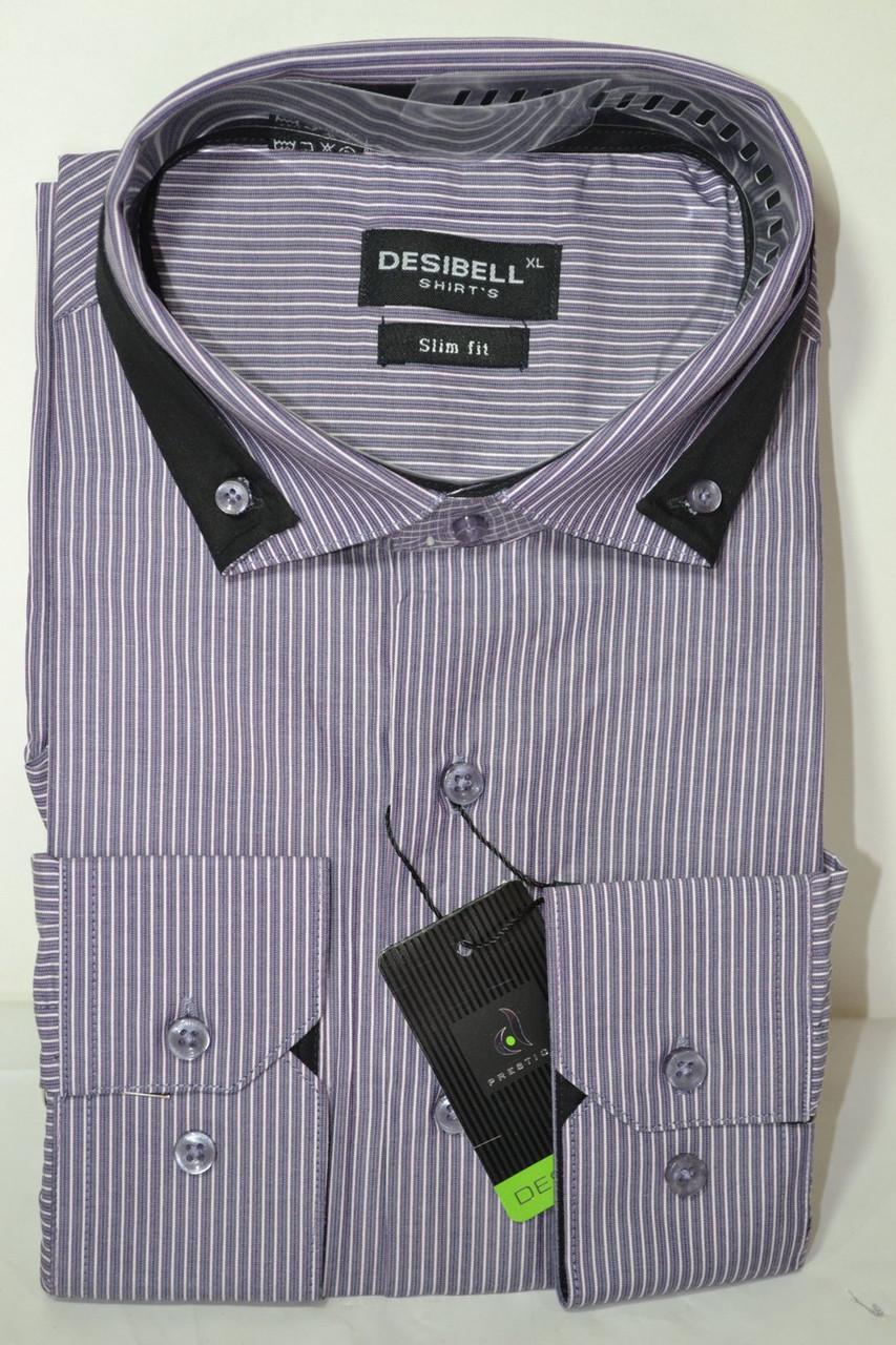 Рубашка приталенная DESIBEL