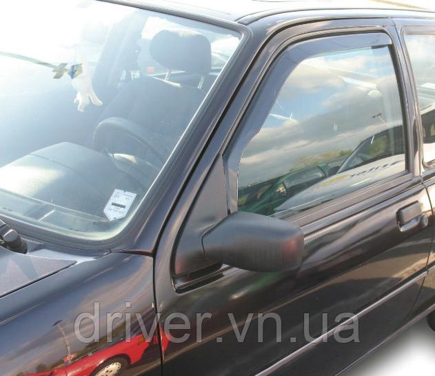 Дефлектори вікон вставні Ford Ka 1996-2008 3D, 2шт