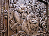 "Панно резное на дереве ""Рождество Христа 2"" (34х28см), фото 3"