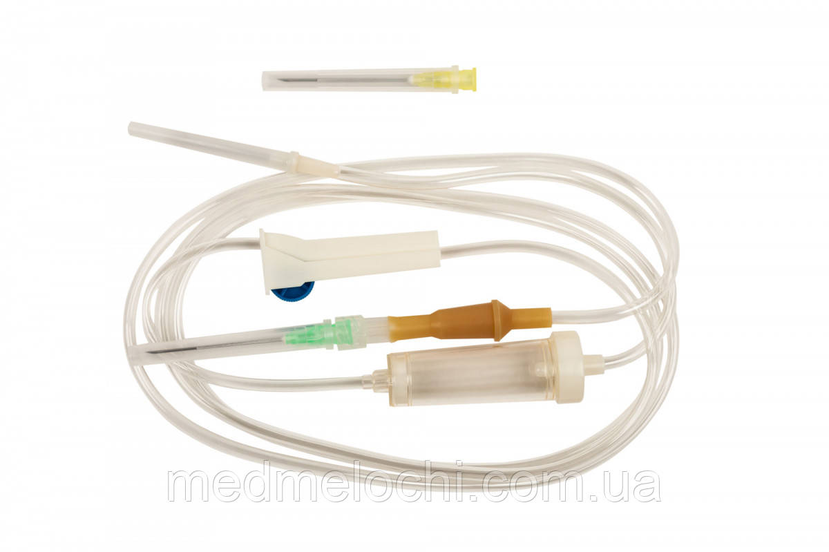 Система ПР Luer Lock (Для переливання розчінів) MEDICARE, одноразова