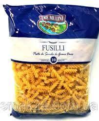 Макаронні вироби Fusilli TRE MULINI 1кг Італія