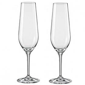 Набор бокалов Bohemia Amoroso для шампанского 200 мл 2 шт Crystalex 40651 200 BOH