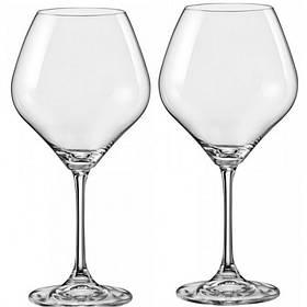Набор бокалов для вина Bohemia Amoroso 450 мл 2 шт Crystalex (40651 450 BOH)