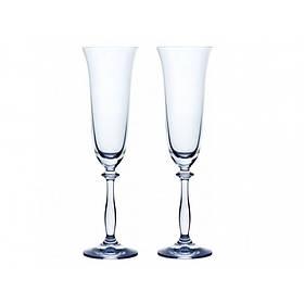 Набор бокалов 2 шт Bohemia Angela 190 мл для шампанского (40600 190-2 BOH)
