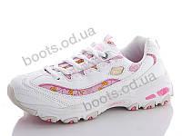 """Кроссовки демисезонные женские """"Cinar"""" #A0158-6. р-р 36-40. Цвет розовый. Оптом"""