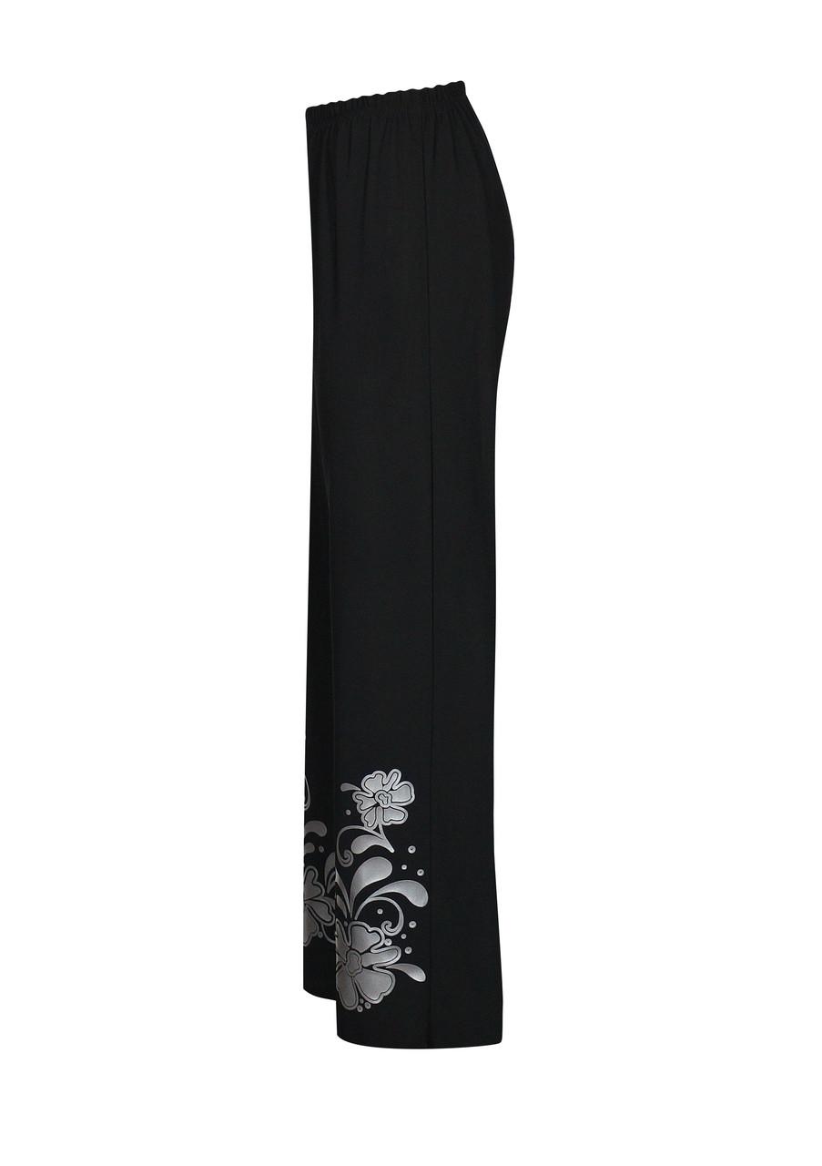 Классические брюки на резинке Барвинок