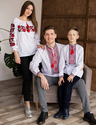 Вишиванки для мами, тата та сина, фото 2