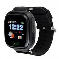 Детские смарт часы Q90 Gsm, sim, Sos,Tracker Finder Smart Watch Черные