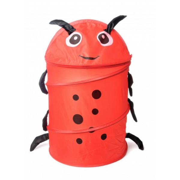 Корзина - ящик для игрушек Bambi Божья коровка Красный