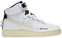 Женские кроссовки Nike Air Force 1 High Utility White (найк аир форс 1, белые)