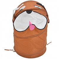 Корзина - ящик для игрушек Bambi Собачка Коричневый