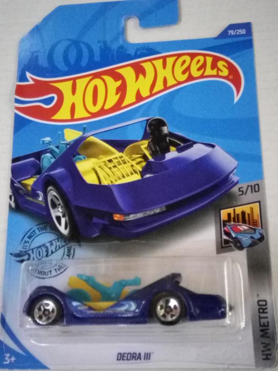Машинка Hot Wheels 2020 Deora III