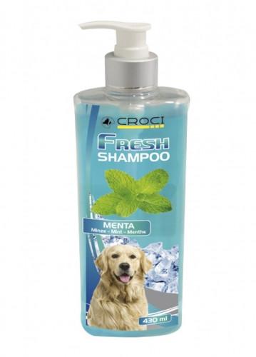 Шампунь для собак CROCI FRESH с мятой, освежающий, 430мл