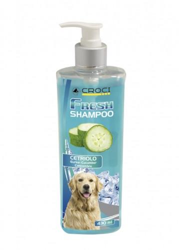 Шампунь для собак CROCI FRESH с огурцом, освежающий, 430мл