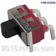Переключатель ползунковый (Slide) 500SSP1S1M6QEA (E-Switch)
