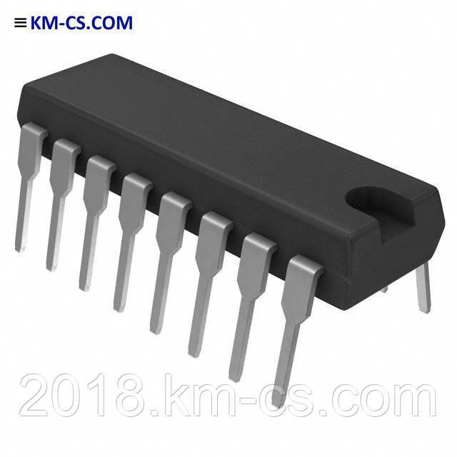 Програмована логіка CD40175BE (Texas Instruments)