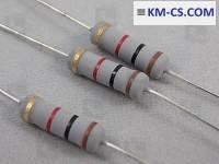 Резистор (Metal Film) R-1W 1k 5% MOR-1WS