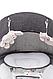 Шезлонг-качалка для ребенка 4baby Rock'n relax с разными мелодиями, фото 8