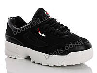 """Кроссовки демисезонные женские """"Cinar"""" #A001-1. р-р 36-41. Цвет черный. Оптом"""