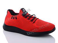 """Кроссовки демисезонные женские """"DaFuYuan"""" #1F9902DA-7B. р-р 36-41. Цвет красный. Оптом"""