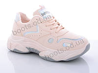 """Кроссовки демисезонные женские """"DaFuYuan"""" #1415-4. р-р 36-41. Цвет розовый. Оптом"""