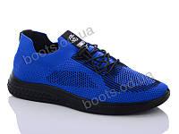 """Кроссовки демисезонные женские """"DaFuYuan"""" #1F9901DA-3. р-р 36-41. Цвет синий. Оптом"""