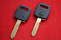 Ключ Nissan x trail primera note Juke с местом под чип лезвие NSN14 Оригинал