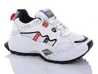 """Кроссовки демисезонные женские """"DaFuYuan"""" #9901-2. р-р 36-41. Цвет белый. Оптом"""