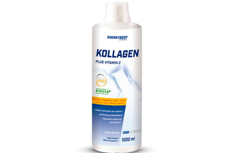 Коллаген Energy Body Collagen Plus Vitamin C 1l. МИРАБЕЛЬ