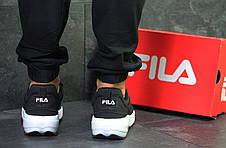 Мужские кроссовки Fila Disruptor 2 Yalor, черно-белые 42р, фото 2