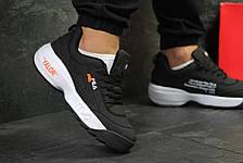 Мужские кроссовки Fila Disruptor 2 Yalor, черно-белые 42р, фото 3