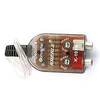 Преобразователь уровня аудио сигнала, высокого в низкий RCA для авто