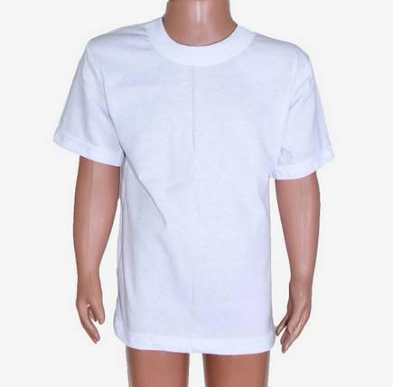 Белая детская футболка (M716)   8 шт., фото 2