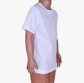 Белая детская футболка (M716) | 8 шт., фото 2