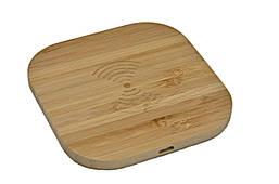 Зарядка беспроводная WoodbooD Wireless Charge Mini Wood дерево Оригинал