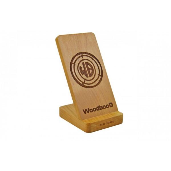 Зарядка беспроводная WoodbooD Wireless Charge Wood Holder Оригинал