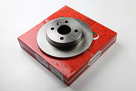 Тормозной диск задний Opel Astra G  1998- (240x10)