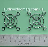 Решетка защитная для вентиляторов (кулеров) 40х40 мм, металлическая