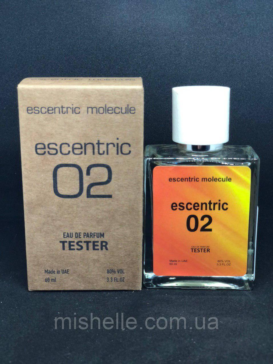Тестер Escentric Molecules Escentric 02 (Эсцентрик Молекула Эсцентрик 02 60мл)