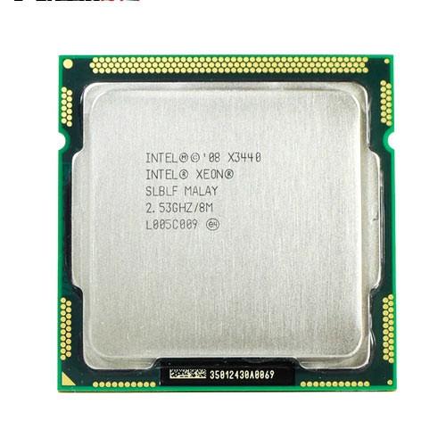 Процессор Intel Xeon X3440, 4 ядра 8 потоков 2.53ГГц, LGA 1156